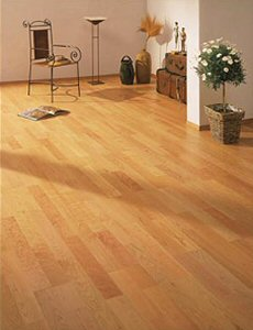 cherry timber conservatory flooring